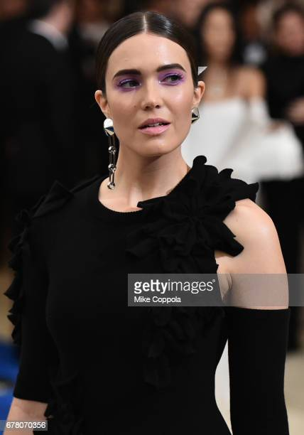 Mandy Moore attends the Rei Kawakubo/Comme des Garcons Art Of The InBetween Costume Institute Gala at Metropolitan Museum of Art on May 1 2017 in New...