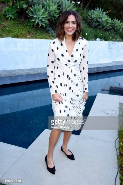 Mandy Moore attends the Rothy's Conscious Cocktails event at a private residence on August 20 2019 in Los Angeles California