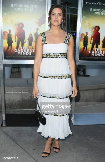 98e1bf8bbe76 Mandy Moore attends the screening of 20th Century Fox s  Darkest Minds  at  ArcLight Hollywood