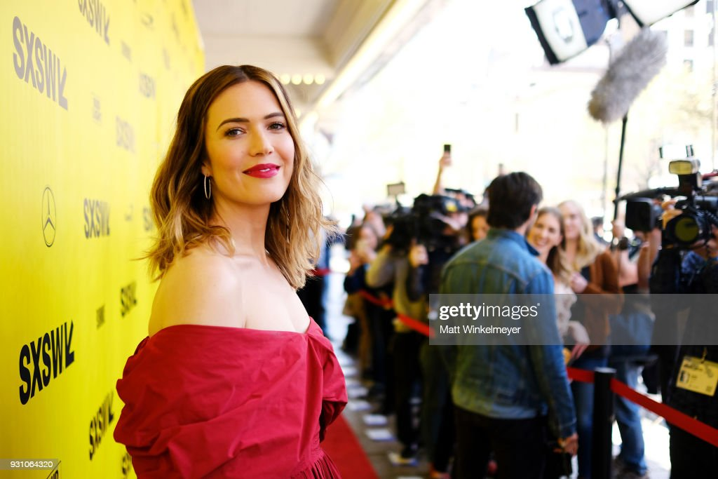 Mandy Moore attends the 'This is Us' Premiere 2018 SXSW Conference and Festivals at Paramount Theatre on March 12, 2018 in Austin, Texas.