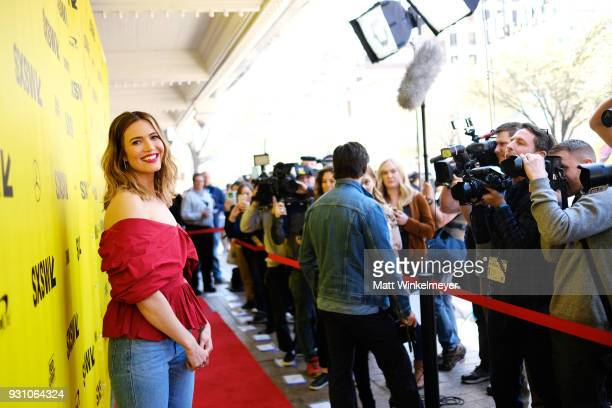 "Mandy Moore attends the ""This is Us"" Premiere 2018 SXSW Conference and Festivals at Paramount Theatre on March 12, 2018 in Austin, Texas."