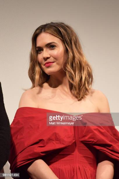 Mandy Moore attends the 'This is Us' Premiere 2018 SXSW Conference and Festivals at Paramount Theatre on March 12 2018 in Austin Texas