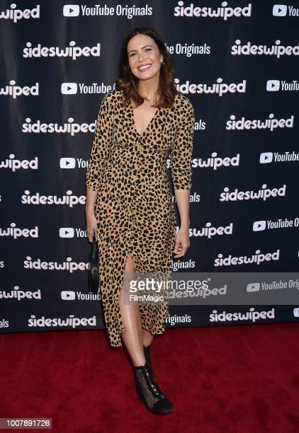 Mandy Moore attends the YouTube Originals 'Sideswiped' screening at the YouTube Space on July 27 2018 in Los Angeles California