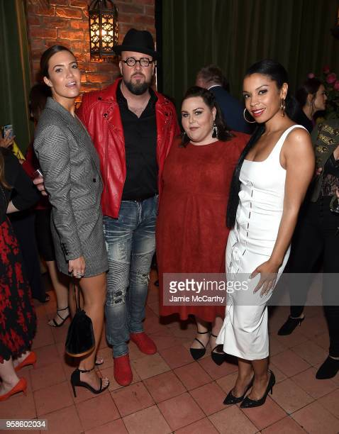 Mandy Moore Chris Sullivan Chrissy Metz and Susan Kelechi Watson of This Is Us attend Entertainment Weekly PEOPLE New York Upfronts celebration at...