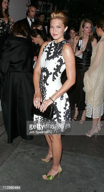 Mandy Moore during 2005 CFDA Fashion Awards Outside Arrivals at New York Public Library in New York City New York United States