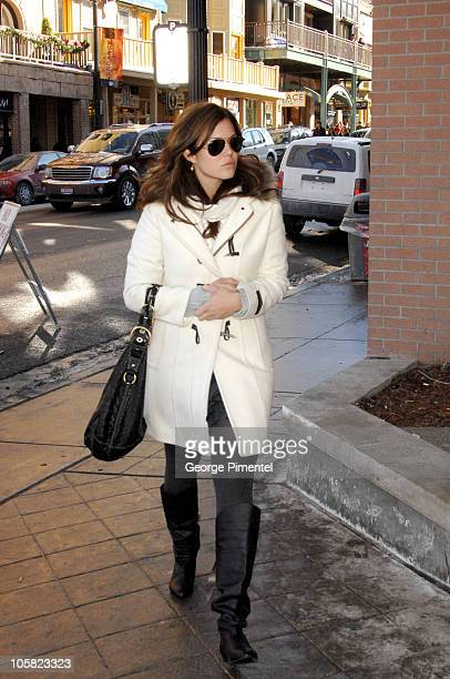 Mandy Moore during 2007 Park City Seen Around Town Day 4 in Park City Utah United States