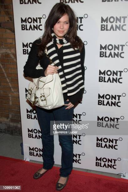 Mandy Moore during Claire Danes Hosts Montblanc 100th Anniversary Diamond Launch - March 14, 2006 at New Space in New York City, New York, United...