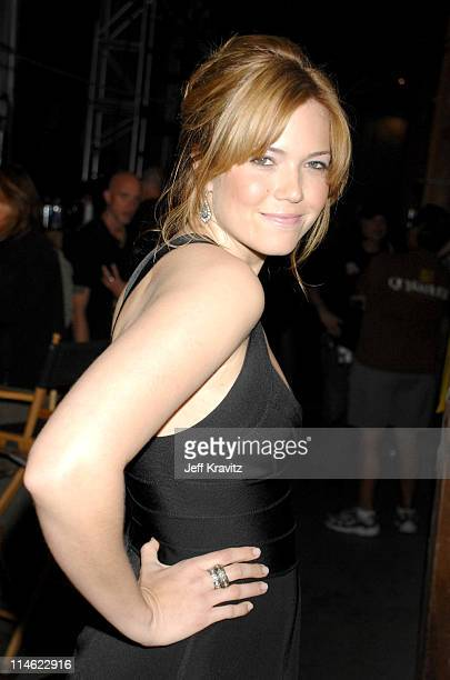 Mandy Moore during First Annual Spike TV's Guys Choice - Backstage and Audience at Radford Studios in Los Angeles, California, United States.