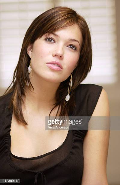 Mandy Moore during 'How to Deal' Press Conference with Mandy Moore at The W Hotel in Westwood California United States