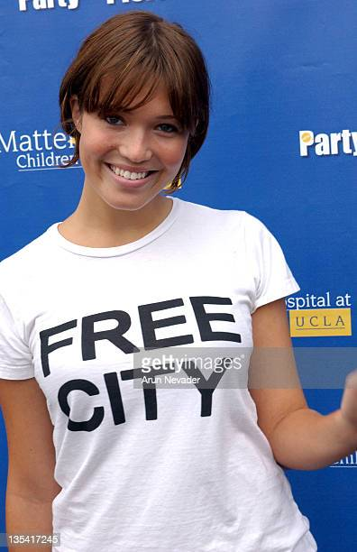 Mandy Moore during Rick Fox Honored at 4th Annual 'Party on the Pier' Benefiting Mattel Children's Hospital at UCLA at Pacific Park on the Santa...