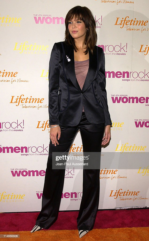 Mandy Moore during The 4th Annual Women Rock! Songs From The Movies - Arrivals at Kodak Theater in Hollywood, California, United States.