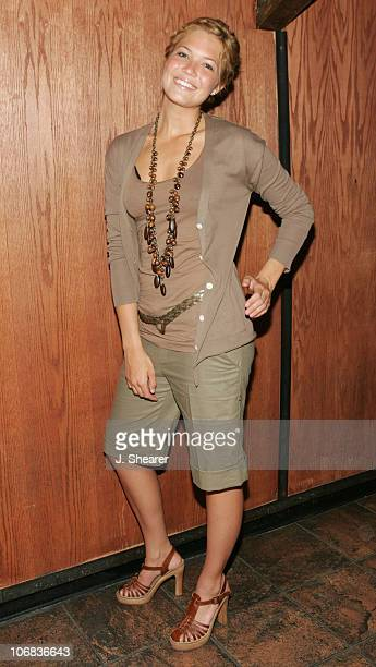 Mandy Moore during Young Angels 310 Benefit Hosted by Mandy Moore and Shane West at Key Club in West Hollywood California United States