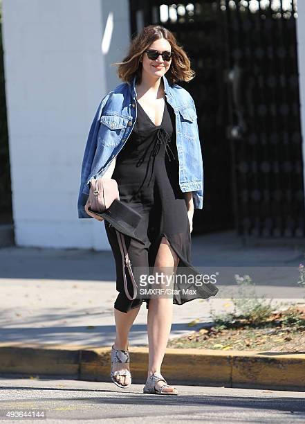 Mandy Moore is seen on October 21 2015 in Los Angeles CA