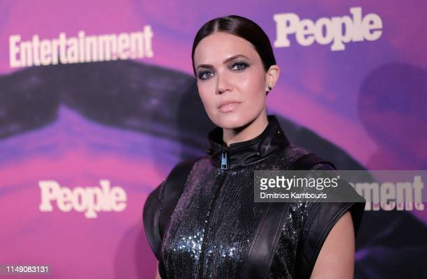 Mandy Moore of This Is Us attends the Entertainment Weekly PEOPLE New York Upfronts Party on May 13 2019 in New York City