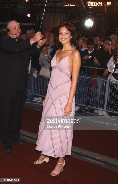 Mandy Moore on the red carpet at the MMV Awards during MuchMusic Video Awards 2002 - Arrivals at Chum City Building in Toronto, Ontario, Canada.