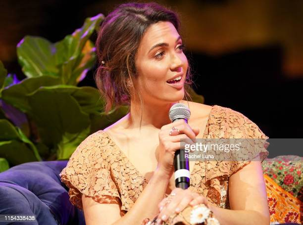 Mandy Moore participates in the 20th Century Fox Television and NBC Present This Is Us FYC Event at John Anson Ford Amphitheatre on June 06 2019 in...