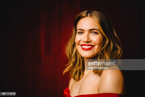 Mandy Moore poses for a portrait at the This is Us Premiere 2018 SXSW Conference and Festivals at Paramount Theatre on March 12 2018 in Austin Texas