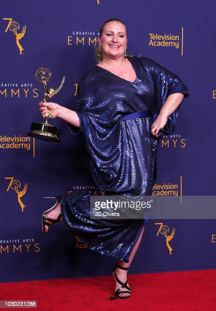 Mandy Moore winner of the award for outstanding choreography for the 'Routines Brand New To Make You Feel My Love' episode of 'So You Think You Can...