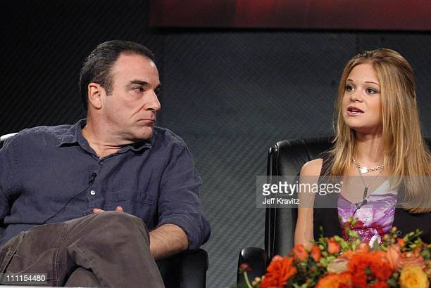 Mandy Patinkin and Ellen Muth during Showtime Networks Inc. Television Critics Associations Presentation at Renaissance Hotel in Hollywood, CA,...