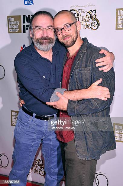 Mandy Patinkin and Isaac Patinkin attend the 25th anniversary screening cast reunion of 'The Princess Bride' during the 50th New York Film Festival...