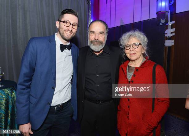 Mandy Patinkin and Kathryn Grody and NDI Alumni attend the National Dance Institute Annual Gala at The Ziegfeld Ballroom on April 30 2018 in New York...