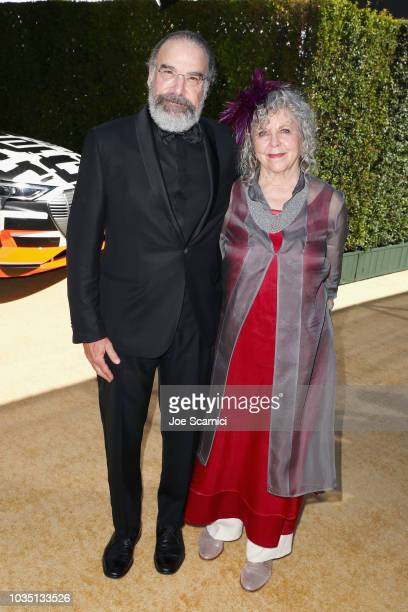 Mandy Patinkin and Kathryn Grody attend Audi at The 70th Annual Emmy Awards at Microsoft Theater on September 17 2018 in Los Angeles California