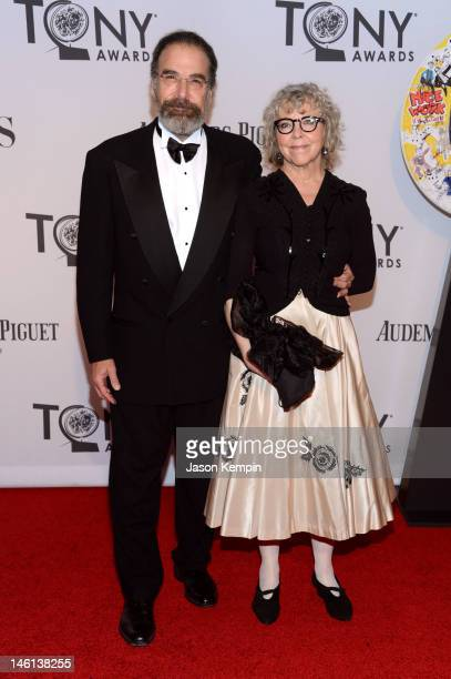 Mandy Patinkin and Kathryn Grody attend the 66th Annual Tony Awards at The Beacon Theatre on June 10 2012 in New York City