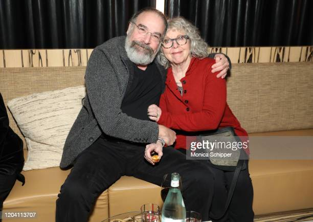 Mandy Patinkin and Kathryn Grody attend the Homeland Season 8 Premiere After Party at The Lobster Club on February 04 2020 in New York City