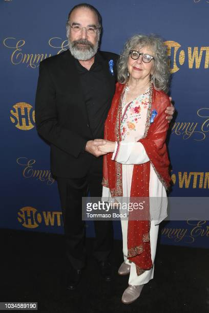 Mandy Patinkin and Kathryn Grody attend the Showtime Emmy Eve Nominees Celebration at Chateau Marmont on September 16 2018 in Los Angeles California