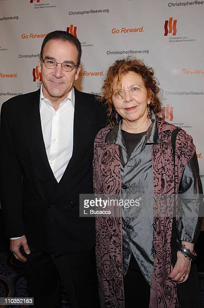 """Mandy Patinkin and Maggie Patinkin attend """"A Magical Evening"""" hosted by The Christopher and Dana Reeve Foundation at The Marriott Marquis on November..."""