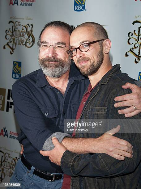 Mandy Patinkin and son attend the 25th Anniversary Screening Cast Reunion Of 'The Princess Bride' during the 50th annual New York Film Festival at...