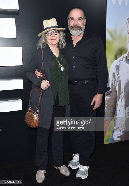 Mandy Patinkin and wife Kathryn Grody arrive at the premiere of Amazon Studios' 'Life Itself' at ArcLight Cinerama Dome on September 13 2018 in...