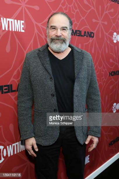 """Mandy Patinkin attends the """"Homeland"""" Season 8 Premiere at Museum of Modern Art on February 04, 2020 in New York City."""