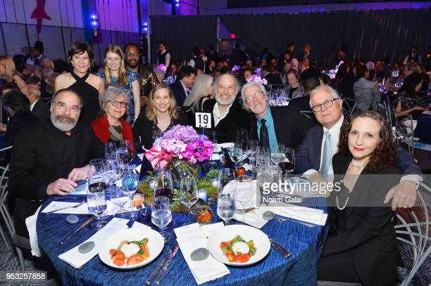 Mandy Patinkin Ellen Weinstein Kathryn Grody Frank Wood Terrence Mann and Bebe Neuwirth attend the National Dance Institute Annual Gala at The...