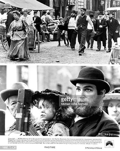 Mandy Patinkin in various scenes from the film 'Ragtime' 1981 Photo by Paramount/Getty Images