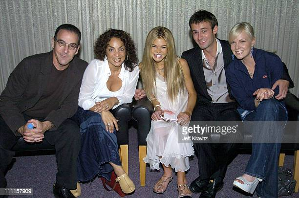 Mandy Patinkin Jasmine Guy Ellen Muth Callum Blue and Laura Harris from Showtime Original Series Dead Like Me *exclusive coverage*