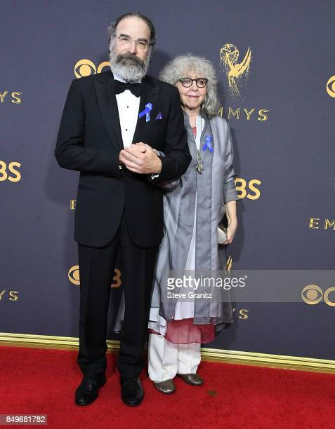 Mandy Patinkin Kathryn Grody arrives at the 69th Annual Primetime Emmy Awards at Microsoft Theater on September 17 2017 in Los Angeles California