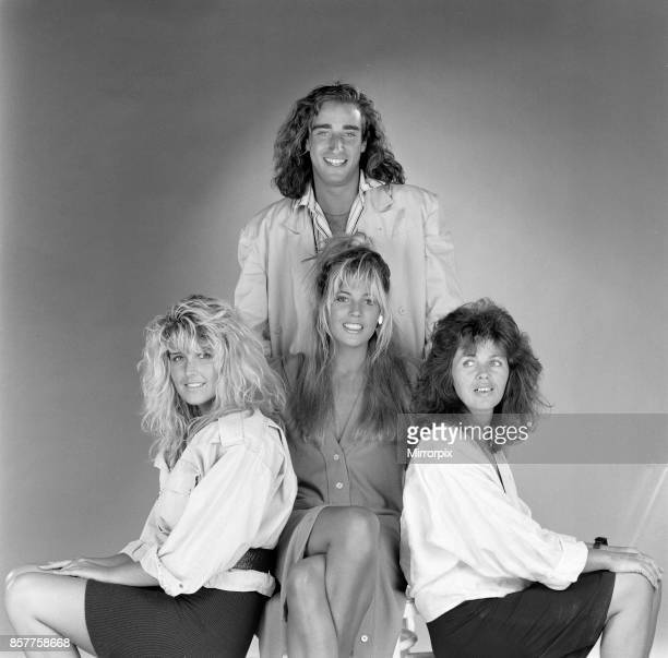 Mandy Smith with her mother Patsy Smith sister Nicola Smith and boyfriend Keith Daley 20th August 1986