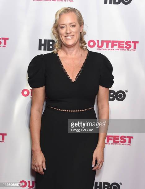 Mandy Ward attends the 2019 Outfest Los Angeles LGBTQ Film Festival Screening Of Sell By at TCL Chinese Theatre on July 20 2019 in Hollywood...