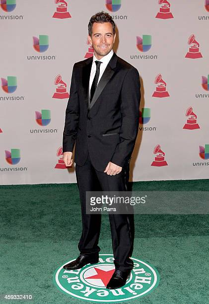 Mane de la Parra attends the 15th annual Latin GRAMMY Awards at the MGM Grand Garden Arena on November 20 2014 in Las Vegas Nevada