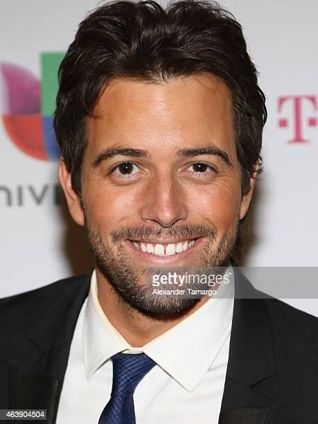 Mane De La Parra attends the 2015 Premios Lo Nuestros Awards at American Airlines Arena on February 19 2015 in Miami Florida