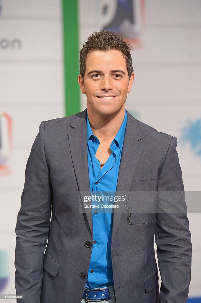 Mane de la Parra attends the Premios Juventud 2013 at Bank United Center on July 18, 2013 in Miami, Florida.