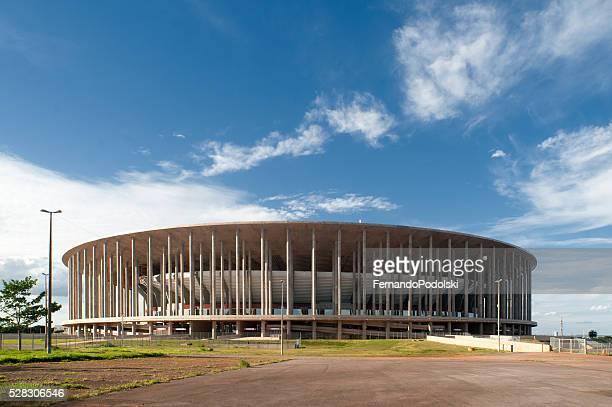 stade mané garrincha national - brasilia photos et images de collection