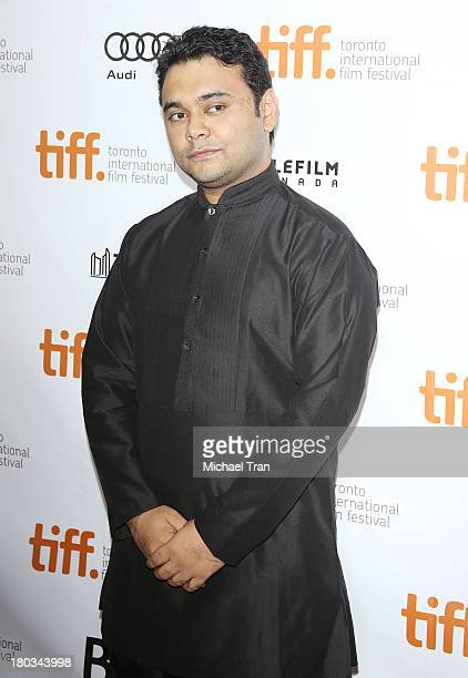Maneesh Sharma arrives at the A Random Desi Romance premiere during the 2013 Toronto International Film Festival held at Roy Thomson Hall on...