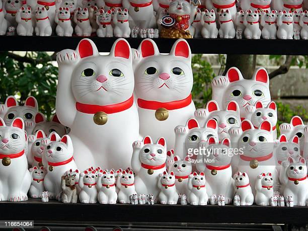 maneki neko - maneki neko stock photos and pictures