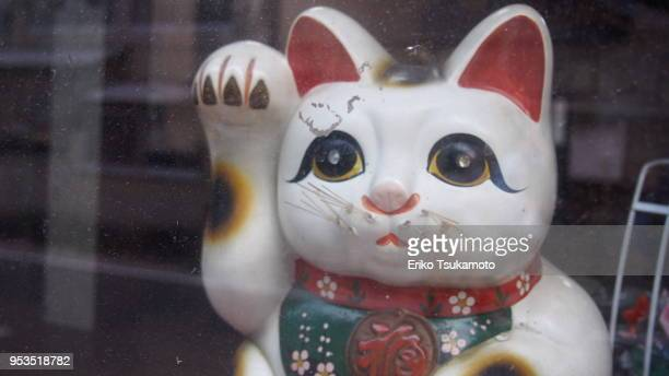'Manekineko' lucky cat