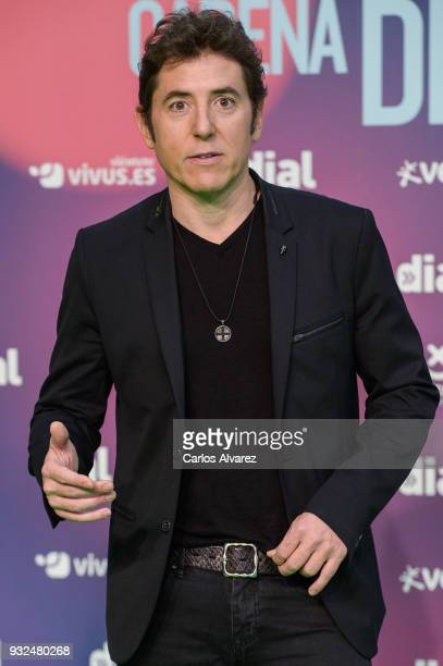 Manel Fuentes attends 'Cadena Dial' Awards 2018 Red Carpet on March 15 2018 in Tenerife Spain