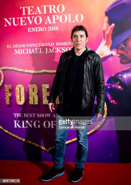 Manel Fuentes attends 'Forever Jackson' Madrid Premiere on January 18 2018 in Madrid Spain