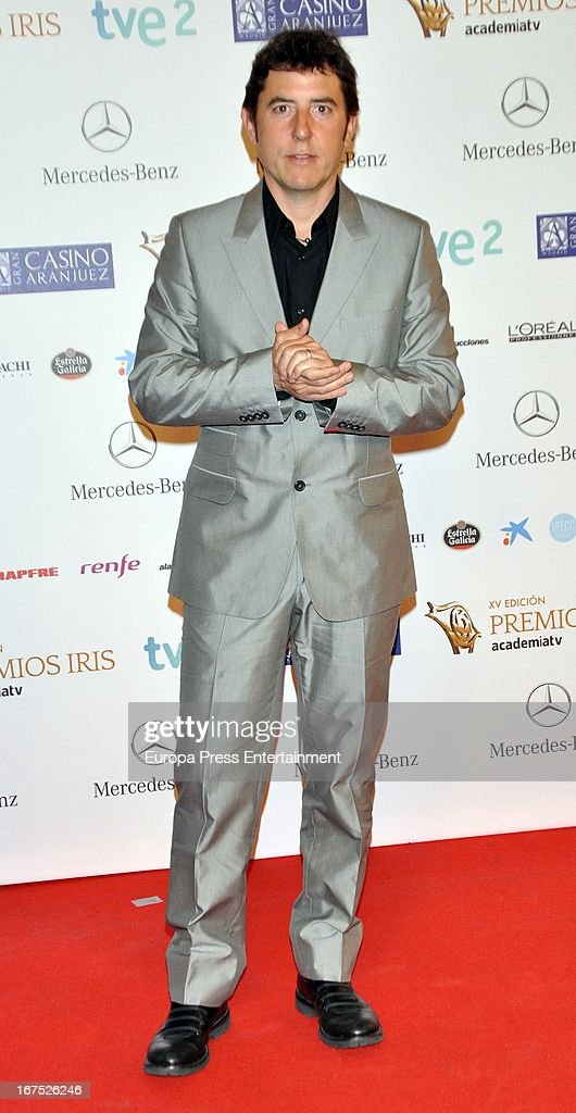 Manel Fuentes attends Iris Awards 2013 on April 25, 2013 in Madrid, Spain.