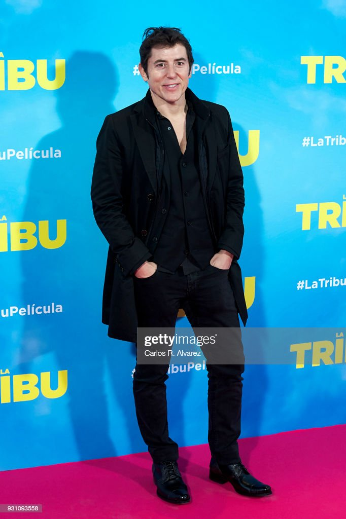 Manel Fuentes attends 'La Tribu' premiere at the Capitol cinema on March 12, 2018 in Madrid, Spain.